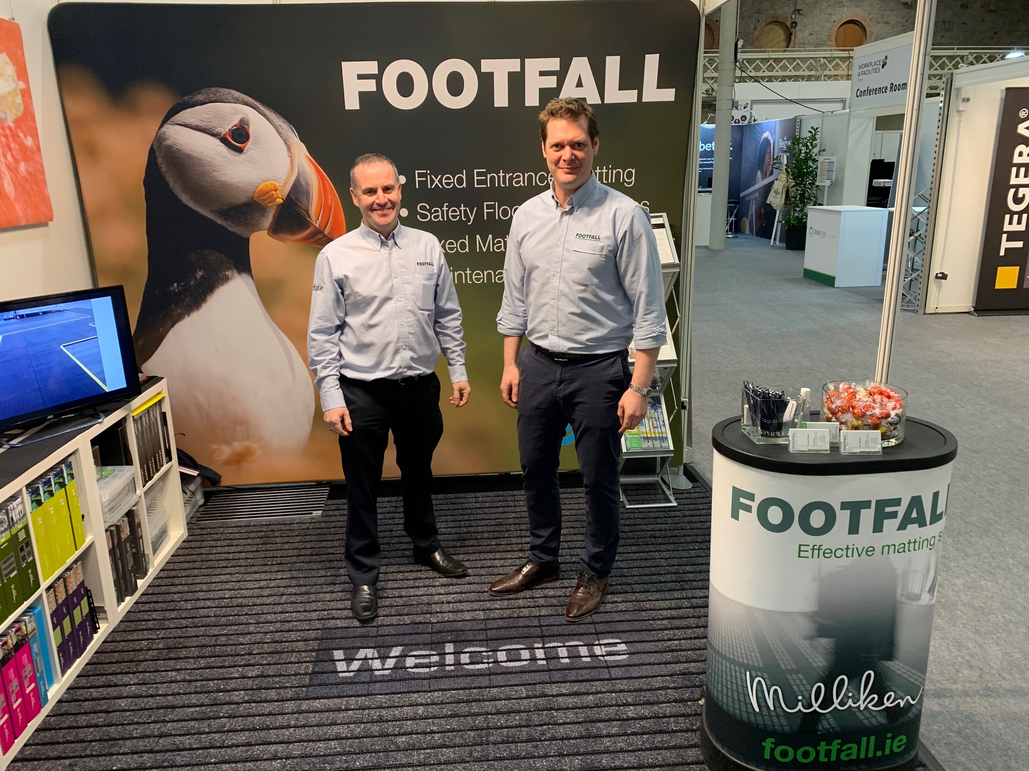 Footfall at the Workplace and Facilities Expo 2020