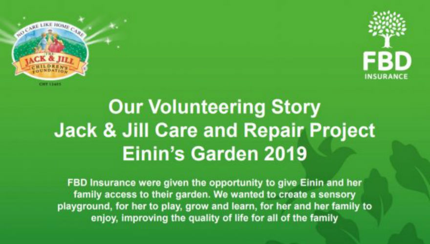 Jack and Jill Care and Repair Project: Einin's Garden