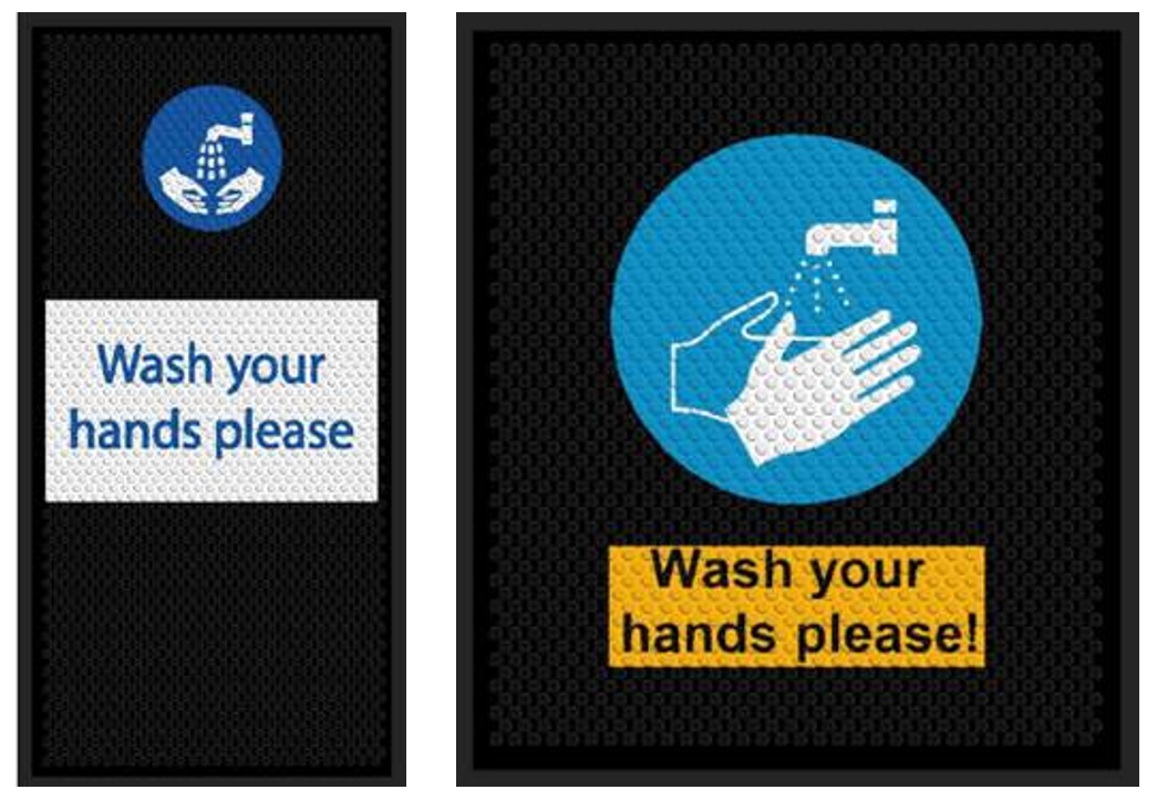 Safety Message Mats & Contamination Control Mats